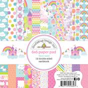 "Fairy Tale - Doodlebug  Paper Pad 6""X6"""