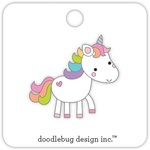Unicorn Fairy Tale Collectible Enamel Pin Doodlebug