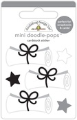 Hats Off Diploma Day - Doodlebug Doodle-Pops 3D Stickers