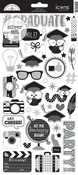 Icons - Hats Off Cardstock Stickers