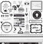"""This & That - Hats Off Cardstock Stickers 12""""X12"""""""