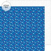 Star Spangled Foil Paper - Yankee Doodle - Doodlebug