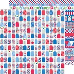 Pint Size Treasures Paper - Yankee Doodle - Doodlebug