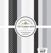 Hats Off - Doodlebug Petite Prints Double-Sided Cardstock
