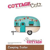 """Camping Trailer 2.5""""X1.6"""" - CottageCutz Die"""