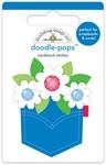 Yankee Doodle Pocket Full Of Posies - Doodlebug Doodle-Pops 3D Stickers