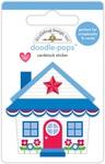 Yankee Doodle Cute Cottage - Doodlebug Doodle-Pops 3D Stickers