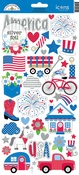 Icons - Yankee Doodle Cardstock Stickers