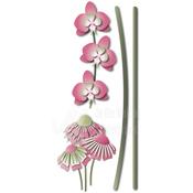 """Secret Garden Flower Stems .64""""X5"""" - Dee's Distinctively Dies"""