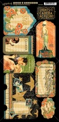 Tags & Pockets - Vintage Hollywood Cardstock Die-Cuts - Graphic 45