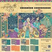 Midnight Masquerade 8 x 8 Paper Pad - Graphic 45