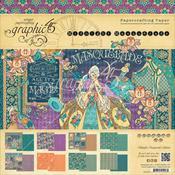 Midnight Masquerade 12 x 12 Paper Pad - Graphic 45