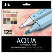 Essentials - Spectrum Noir Aqua Markers 12/Pkg