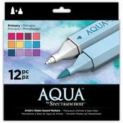 Primary - Spectrum Noir Aqua Markers 12/Pkg