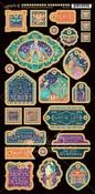 Decorative - Midnight Masquerade Chipboard Die-Cuts - Graphic 45