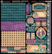 Midnight Masquerade Cardstock Stickers - Graphic 45