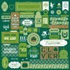 Emerald Details Sticker Sheet - Authentique