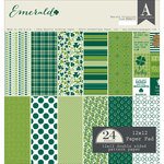 Emerald 12 x 12 Paper Pad - Authentique