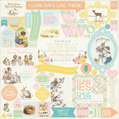 Eastertime Details Stickers - Authentique