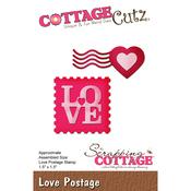"""Love Postage, 1.5""""X1.5"""" - CottageCutz Die"""