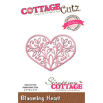 "Blooming Heart, 2.7""X2"" - CottageCutz Elites Die"