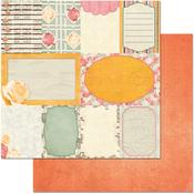 Notes  Paper - Aryias Garden - Bo Bunny