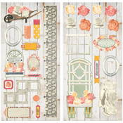 Aryia's Garden Adhesive Chipboard Accents