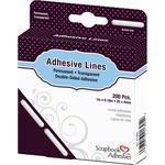 "Permanent, 1"" - Scrapbook Adhesives Lines 200/Pkg"