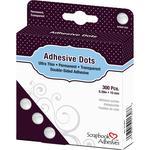 "Permanent, .39"" - Scrapbook Adhesives Medium Ultra Thin Dots 300/Pkg"