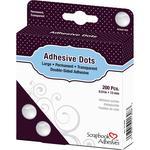 "Permanent, .51"" - Scrapbook Adhesives Large Dots 200/Pkg"
