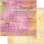 "Blessings - Faith Double-Sided Cardstock 12""X12"""