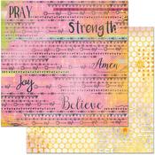 """Blessings - Faith Double-Sided Cardstock 12""""X12"""""""