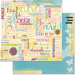 "Forever - Faith Double-Sided Cardstock 12""X12"""