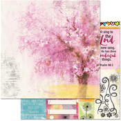"Happiness - Faith Double-Sided Cardstock 12""X12"""
