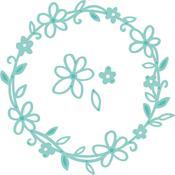 """Flower Wreath 1.75"""" To 4"""" - Kaisercraft Decorative Die"""