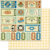 """Game On! - Game On! Double-Sided 12""""X12"""" Paper"""