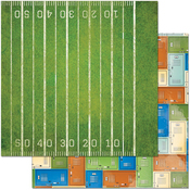 """1st Down - Game On! Double-Sided 12""""X12"""" Paper"""