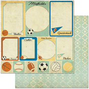 """Cards - Game On! Double-Sided 12""""X12"""" Paper"""