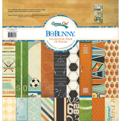 """Game On! - BoBunny Collection Pack 12""""X12"""""""