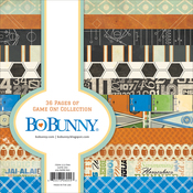 """Game On! 12 Designs/3 Each - BoBunny Single-Sided Paper Pad 6""""X6"""" 36/Pkg"""