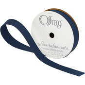 "Navy - Grosgrain Ribbon 5/8""X18'"
