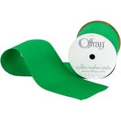 "Emerald - Grosgrain Ribbon 3""X9'"