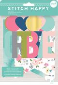 We R Stitch Happy Banner Kit 58pc