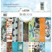 """Life In Color - BoBunny Collection Pack 12""""X12"""""""
