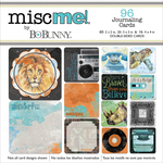 Life In Color - Misc Me Pocket Squares Journaling Cards 96/Pkg