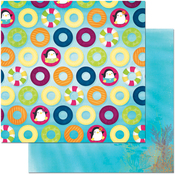 "Floating - Make A Splash Double-Sided 12""X12"" Paper"