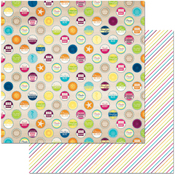 """Summertime - Make A Splash Double-Sided 12""""X12"""" Paper"""