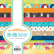 "Make A Splash -BoBunny Single-Sided Paper Pad 6""X6"" 36/Pkg"