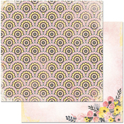 """Blooms - Petal Lane Double-Sided 12""""X12"""" Paper"""