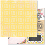 """Notes - Petal Lane Double-Sided 12""""X12"""" Paper"""
